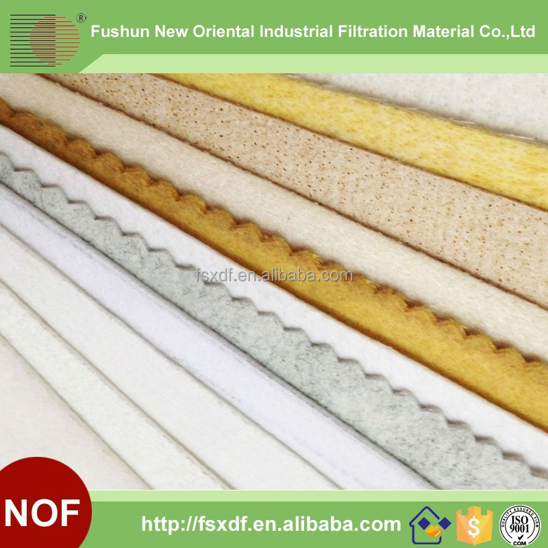 High quanlity Air filter fabric/Filter felt/Non woven needle punched