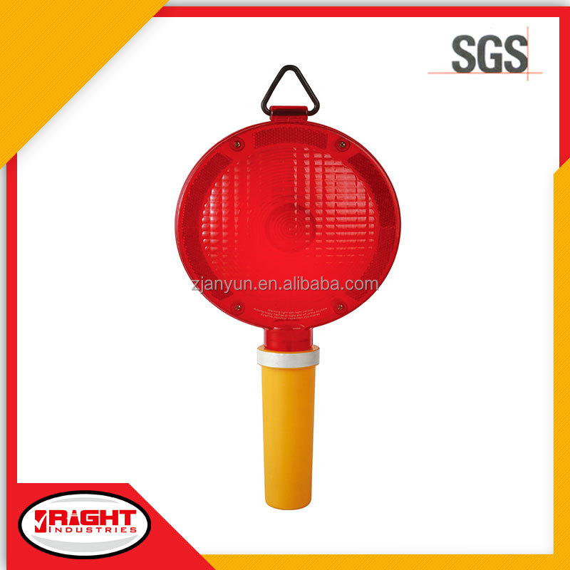 Increased Visibility Battery Operated LED Traffic Signal Barricade Light