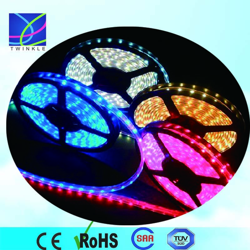 flexible led strip tape light rgb 24v led tape lights, 300leds 24volt 5050 decorative led tape