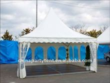 high quality pagoda tent for wedding with curtains and linings