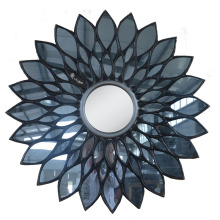 factory wholesale sun shaped design decorative wall mirror