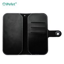 For oppo neo 5 back cover leather case with metal button case cover