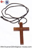 Religious cross cord necklace ,Religious cross necklace