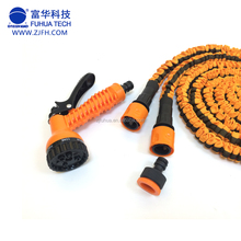 2017 new CE BSCI 7 function flexible spary water gun expandable hose pvc tpe