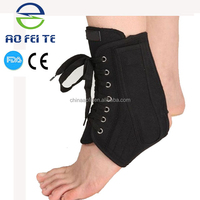Alibaba Express aofeite adjustable lace up ankle support brace 2015