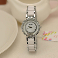 Vogue Brand Ladies Watch China Manufactures Luxury Brands Stainless Steel Watch