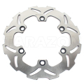 Off-road rear wave solid disc rotor for klr 650