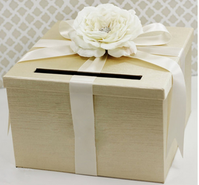 Wedding Favor Boxes Trinidad : One tiered wedding favor boxes card holder inch