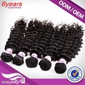 Best quality bohemian jerry curl hair,12 to 28 inch 6a high quality peruvian deep wave hair