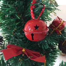 Red 40mm Jingle Bell Solid Metal Party Bell Christmas Tree Decorations