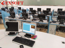 EXSOFT Language Lab System with software and furniture