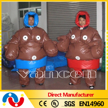 Factory fighting inflatable sports games/ sumo suits sumo wrestling suits