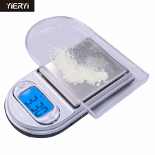 Digital Jewelry Scales LCD Mini Pocket Electronic Scale Balance Lighter Style
