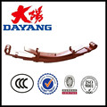 durable Pakistan Heavy duty different types Suspension System 6+2 trailer leaf spring for sale