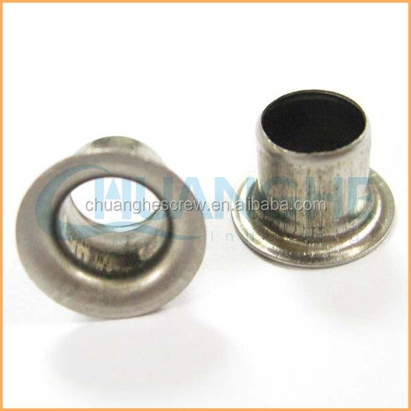 Factory direct wholesale best quality of flat head aluminium hollow rivet