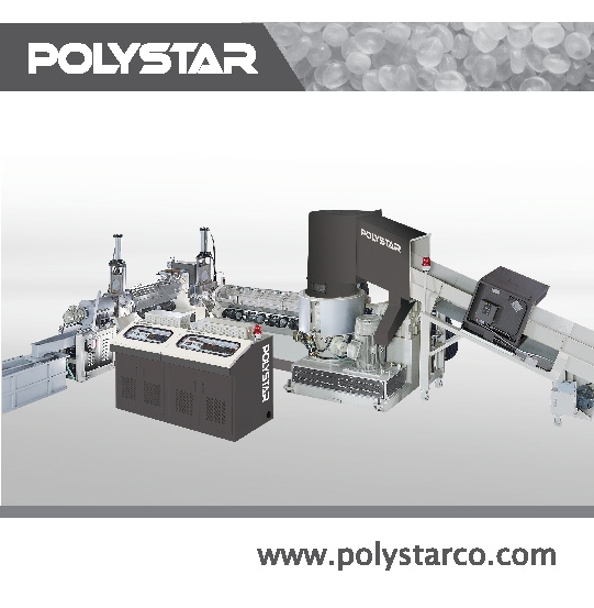 Waste Material Recycling & Pelletizing Equip