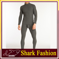 Shark Fashion warm men's underwear sexy tight cotton thermal long johns