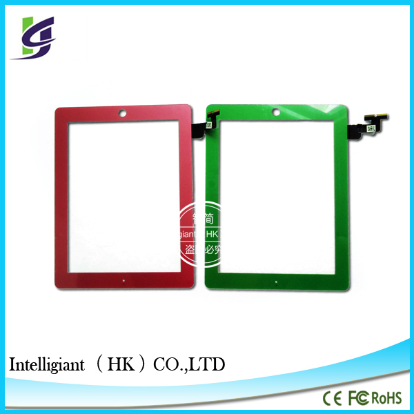 Top wholesale Touch Digitizer Screen with IC Connector Home Button Flex Assembly for ipad mini 2 retina paypal is accepted