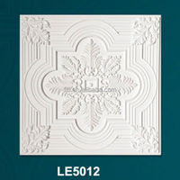Water-proof square decorative pu ceiling/ceiling building materials