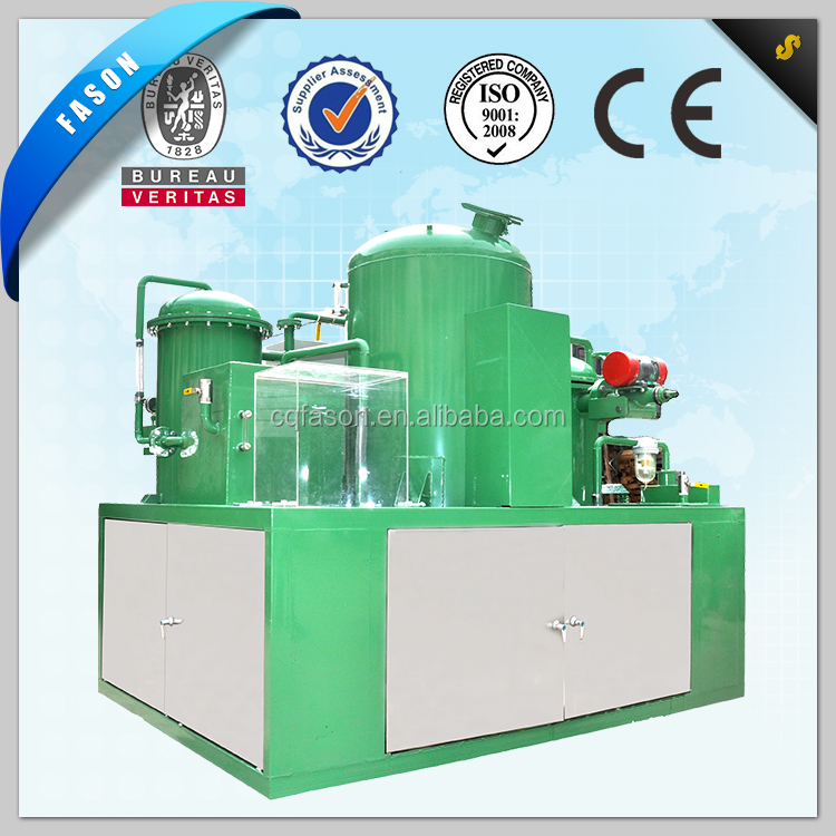 Innovative technology and Fully continuous operation oil recycle device