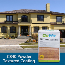 C840 cement render finishes