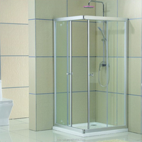 modern style tempered glass round shower enclosure KDS-D1040 for bathroom