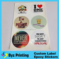 high quality hot sale color changing sticker temperature