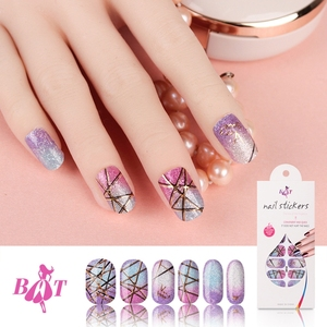 Custom Nail Sticker Wholesale New Style Fashion Water Transfer Nail Art Stickers