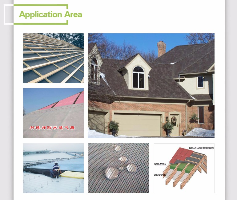 ASTM synthetic roofing underlayment