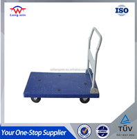 US $107,000 Trade Assurance 660LBS Metal Hand Push Cart For Warehouse