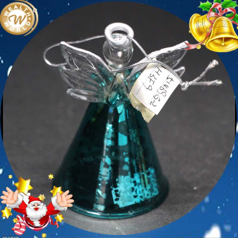 glass angel christmas ornaments