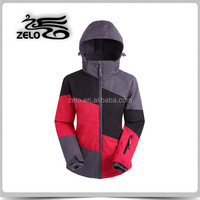 Women's fashionable design popular summit snowboard jacket