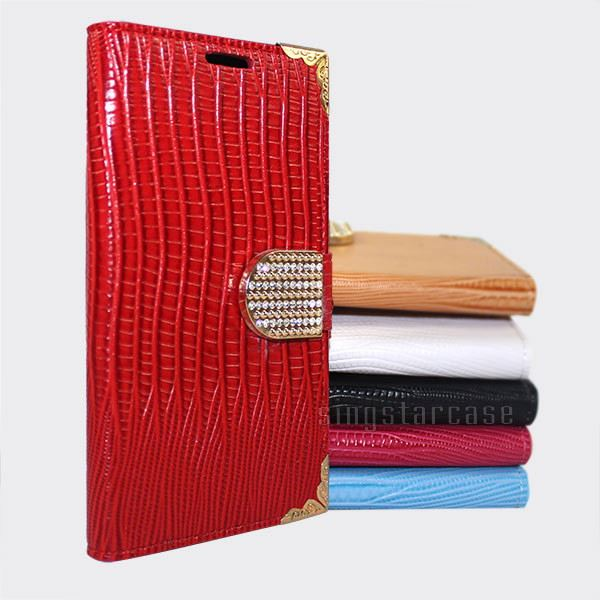 Luxury PU Leather Bling Crystal Diamond Wallet Flip Case Cover For Apple iPhone 7 Plus