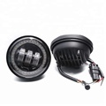 High quality !!! 4.5 inch fog lamp with yellow turning light
