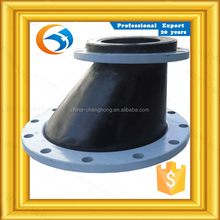 DN800 Good Quality nr eccentric reducing single sphere rubber joint with ansi flange