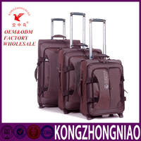 2016 hot sales high quality cheap price travel luggage with strong wheels and trolley good quality parts for luggage