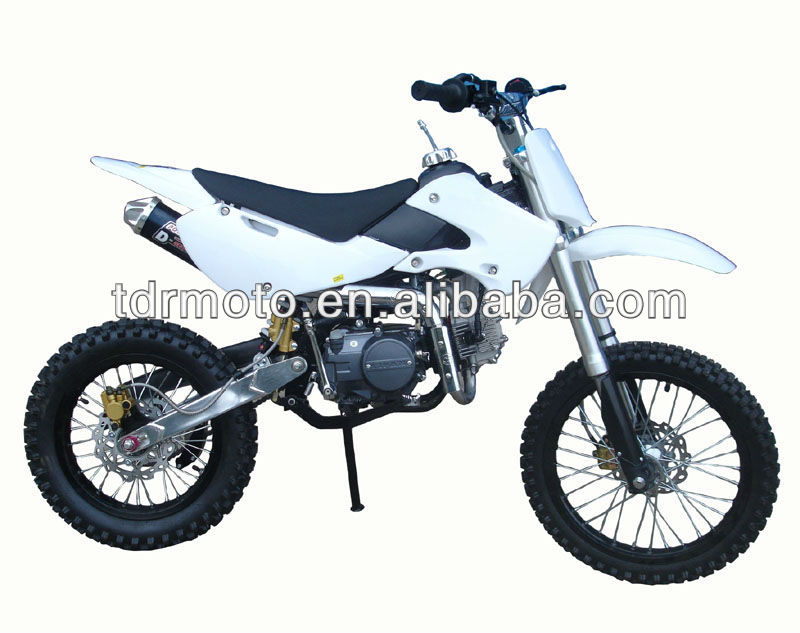 2014 New 125cc Dirt Bike Pitbike Motocross Minibike Off-road Motorcycle Racing Big Foot Wheel Motard Hot Sale