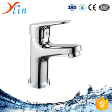 C0034 Popular High Quality Contemporay Bathroom Faucet 0-1.2Mpa Pressure Mounted Brass chrome Lavatory Faucet with Single Handle