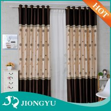 Unique design American Style Colorful fabric curtain wholesale