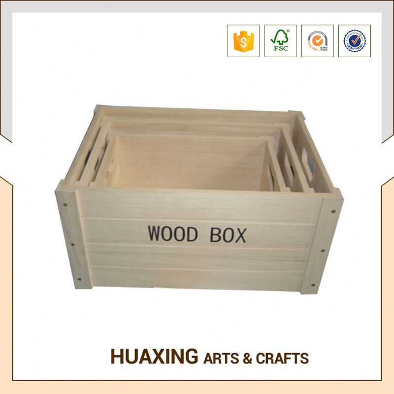 small furniture wooden storage basket with high quality in the kitchen for vegetable storage
