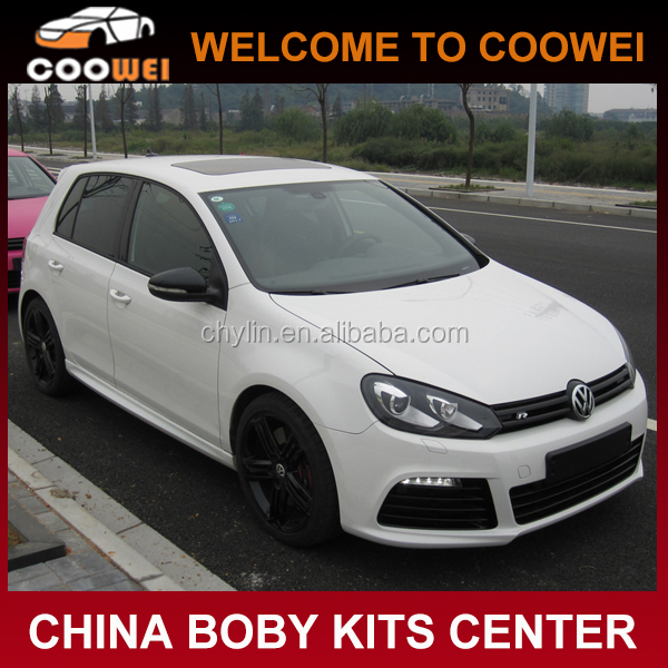 Golf6 MK6 R20 body kit for VW GOLF VI MK6(front bumper, rear bumper, side skirts)