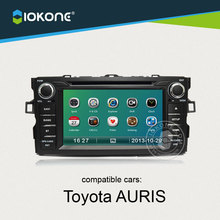 Factory wholesale Central multimidia For Toyota Auris support GPS Radio Bluetooth