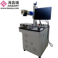 marking depth can be controlled fiber laser marking machine 20w for animal ear tag marking with factory price