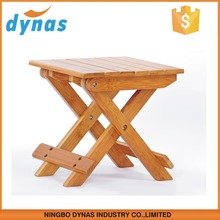 2015 easy to carry bamboo rustic wooden chairs for promotion