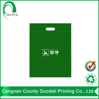 Pp Non-woven Shopping Die Cut and Tote Promotional Bag