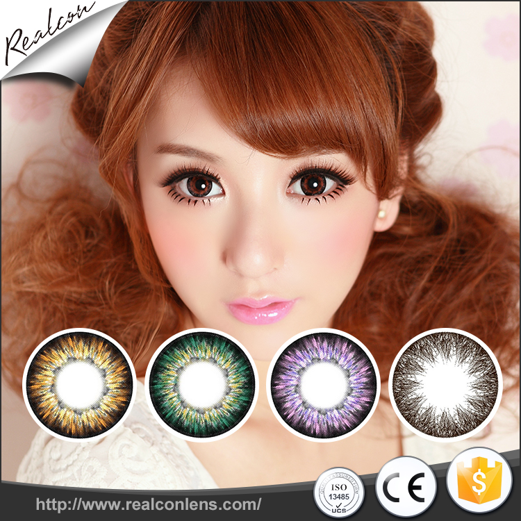 HEMA/MMA/EGDMA/AIBN Cosmetic eye contacts wholesale china cheap color contact lenses
