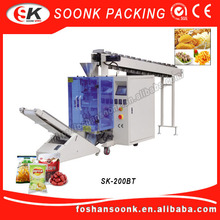 Fully Toothpaste Tube Hot Sauce Semi Automatic Filling Machine