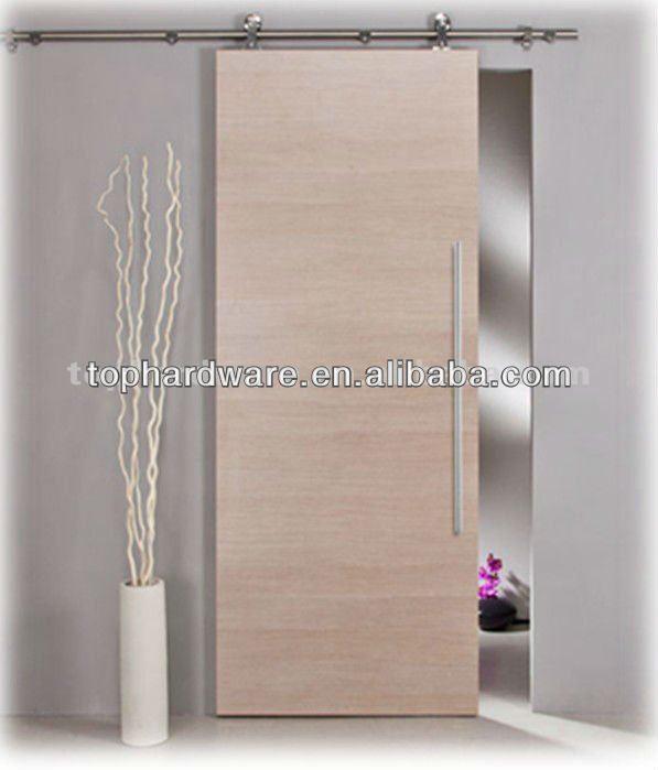 Sistema de puertas correderas para puerta de madera - Sistema puerta corredera ...