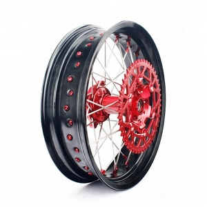 17 inch full set Aluminum alloy motorcycle wheels for HONDA CRF 250X
