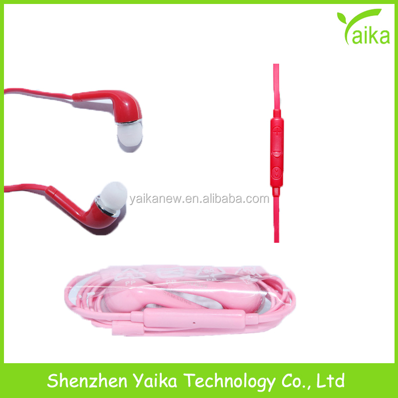 Yaika Wired <strong>Communication</strong> and Mobile Phone Use Stock S6 Earphone